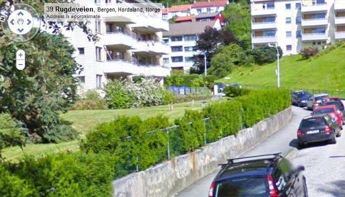 Rugdeveien, Bergen, Hordaland... resumindo, em algum lugar da Noruega