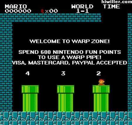 Escolha sua opção de pagamento no Mario