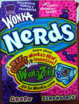 "Balas ""Nerds"" do Wonka"