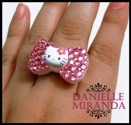 anel da hello kitty
