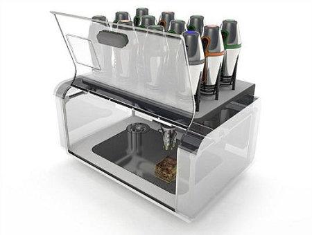 impressora de comida