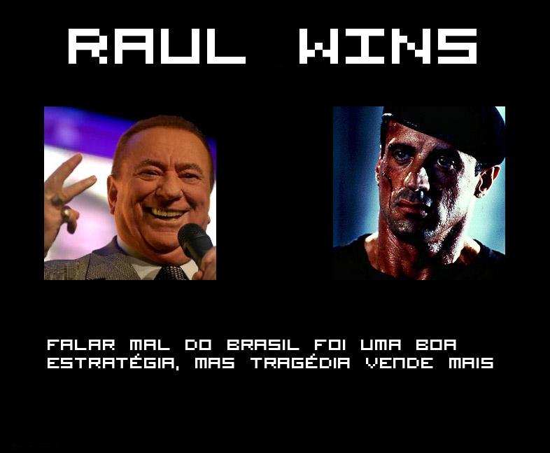 Raul Gil morre